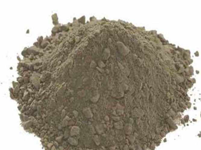 Dry material for tundish working layer